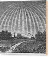 Aurora Borealis, 1837 Wood Print