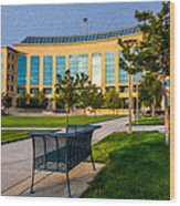 Aurora Municipal Center Wood Print