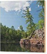 Ausable Chasm 1618 Wood Print