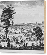 Australia: Gold Rush, 1851 Wood Print
