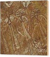 Indigenous Aboriginal Art 2 Wood Print