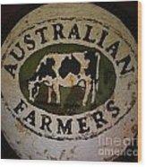 Australian Farmers Wood Print