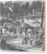 Australian Gold Rush, 1851 Wood Print