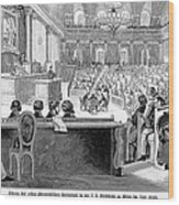 Austrian Assembly, 1848 Wood Print