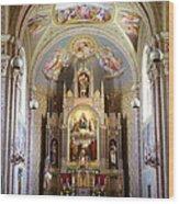 Austrian Church Interior Wood Print