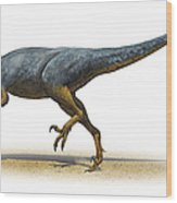Austroraptor Cabazai, A Prehistoric Era Wood Print