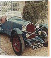 Auto: Alfa-romeo, 1933 Wood Print