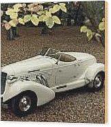 Auto: Auburn, 1935 Wood Print
