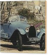 Auto: Bugatti Type, 1925 Wood Print