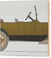 Auto: Chevrolet, 1919 Wood Print