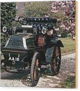 Auto: Daimler, 1899 Wood Print