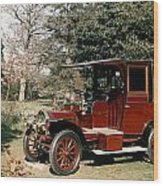 Auto: French Taxi, 1908 Wood Print