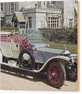 Auto: Rolls-royce, 1909 Wood Print