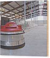 Automated Feed Pusher Wood Print by Jaak Nilson