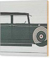 Automobile: Stutz, 1929 Wood Print