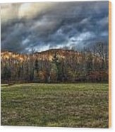 Autumn -- Foothills - Maine Wood Print