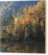 Autumn At Jenny Wiley Wood Print