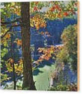 Autumn At Letchworth State Park Wood Print