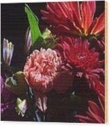 Autumn Bouquet  Wood Print