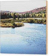 Adirondack Lake 38  Wood Print