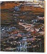 Autumn Falls 2 Wood Print
