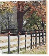 Autumn Greetings Wood Print