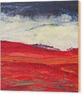Autumn Hills 01 Wood Print