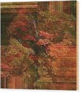 Autumn Illusion Wood Print