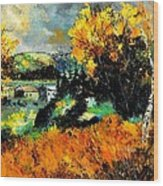 Autumn In Ardennes 672101 Wood Print