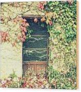Autumn In France Wood Print by Georgia Fowler