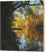 Autumn In Ohio Wood Print