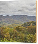 Autumn In Shenandoah National Park Wood Print by Pierre Leclerc Photography