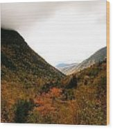 Autumn In The Mountains Wood Print