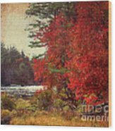 Autumn Of Yesteryear Wood Print