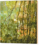 Autumn Reflections New Hampshire Wood Print