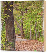 Autumn Walk - Impressions Wood Print