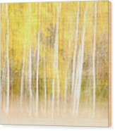Autumns Abstract Wood Print