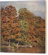 Autumn's Edge Wood Print