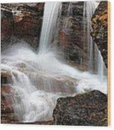 Avalanche Creek - Glacier National Park Wood Print