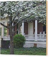 Avenel - Bedford - Virginia Wood Print