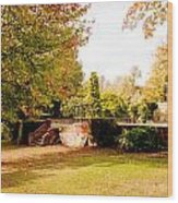 Avery Hill Rose Garden Wood Print