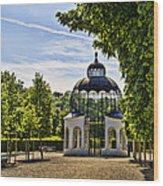 Aviary At Schonbrunn Palace Wood Print