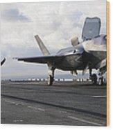 Aviation Boatswains Mate Signals Wood Print