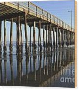 Avila Beach Pier California 2 Wood Print