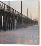 Avila Beach Pier California 5 Wood Print