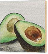 Avocado Wood Print by Prashant Shah