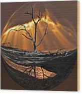 Awakening Wood Print