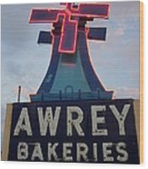 Awrey Bakeries Outlet Store Wood Print
