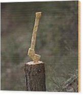 Axe Wood Print