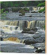Aysgarth Falls Wensleydale Wood Print